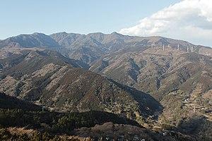 Mount Amagi - Image: Mount Amagi 20120218
