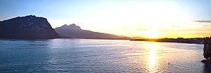 Weggis - Mount Pilatus from Weggis, Switzerland