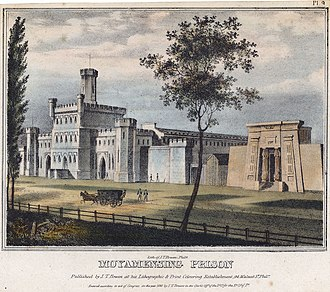 Moyamensing Prison - 1838 engraving of the prison