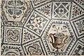 Mozaik iz Ljubljane, 3. stoletje, hrani Narodni muzej Slovenije.jpg