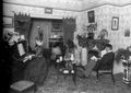 Mr and Mrs Hutchins, at home, Port Perry, Ontario, circa 1900.png