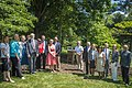 Mrs. Karen Pence and Secretary Perdue Unveil Bee Hive at Vice President's Residence 20170606-OSEC-PJK-0182 (35008919201).jpg