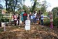 Mrs Evelin Ilves visits school garden at Stoddert Elementary (8033367102).jpg