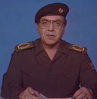 irakischer Politiker, Informationsminister des Irak