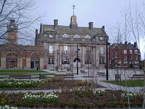 Crewe - Crewe Municipal Building – Home of the New Crewe Town Council