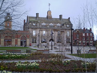 Crewe - Crewe Municipal Building