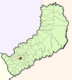 Almafuerte, Misiones - Image: Municipio Almafuerte (Misiones Argentina)