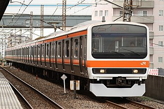 Keiyō Line - Image: Musashino 209 500 M71