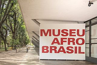 Museu Afro Brasil museum in São Paulo, Brazil