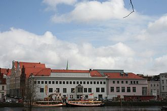 Lübeck Academy of Music - The music academy on the banks of the river Trave