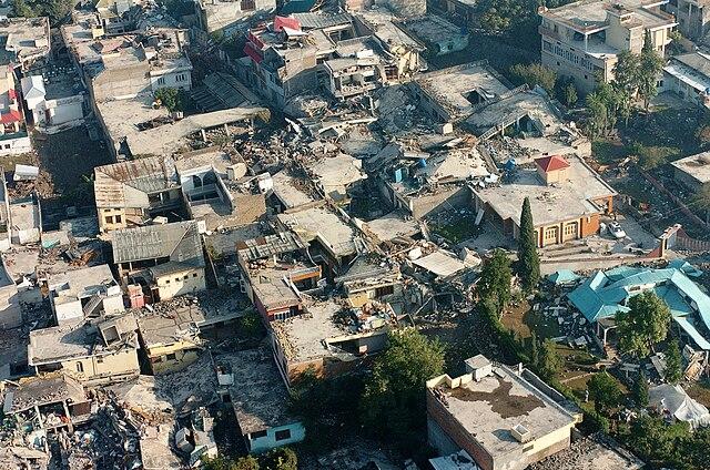Muzzafarabad - zemetrasenie