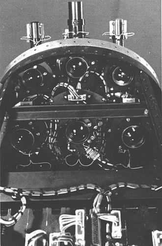 Ranger 6 - Television cameras of the spacecraft Ranger 6.