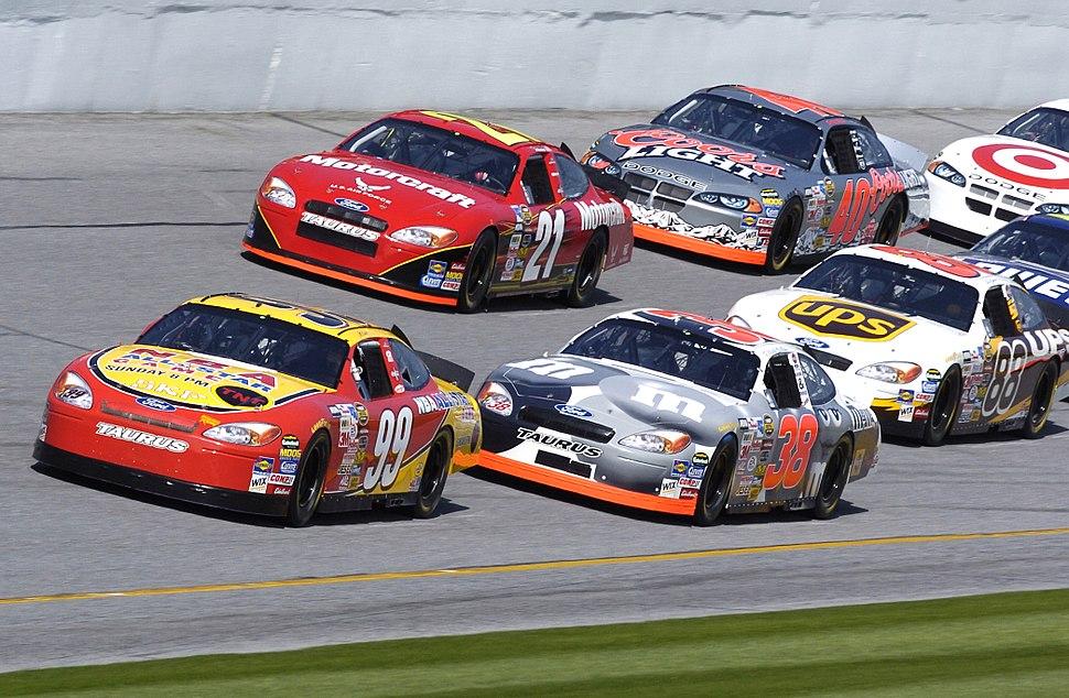 NASCAR practice