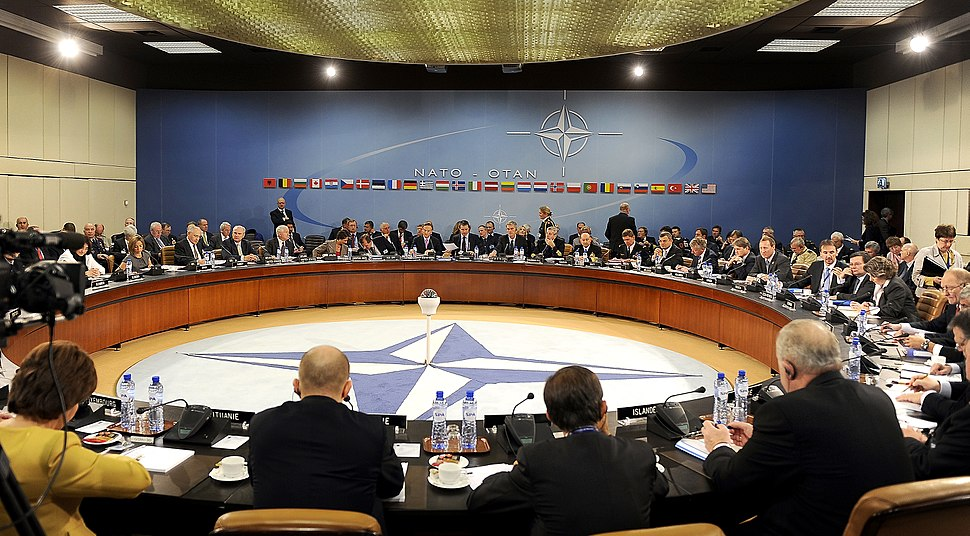 NATO Ministers of Defense and of Foreign Affairs meet at NATO headquarters in Brussels 2010