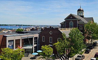 New Bedford Whaling Museum - New Bedford Whaling Museum and New Bedford Harbor