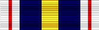 Australian Honours Order of Wearing - Image: NPSM Ribbon