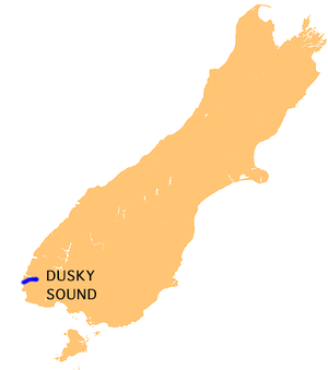 Dusky Sound - Location of Dusky Sound