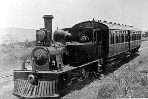 NZASM 19 Tonner 0-4-2T - 19 Tonner railmotor engine
