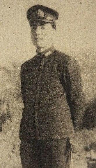 Yasuhiro Nakasone - Nakasone (in the Imperial Japanese Navy)