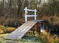 Nationaal Park Weerribben. Pad achter bruggetje gevaarlijk.jpg