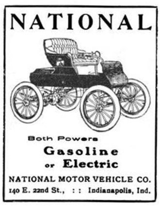 National Motor Vehicle Company - 1905 National - Electric or gasoline