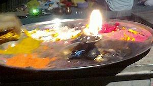 Puja thali - Navratri puja thali