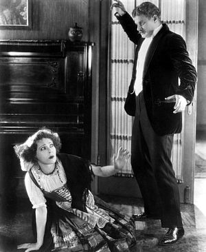 Realism (theatre) - Scene from A Doll's House, a 1922 silent film starring Alla Nazimova and Alan Hale, Sr. The author of the original play, Henrik Ibsen, was an influential exponent of realism in the theatre.