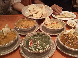 A Nepalese meal