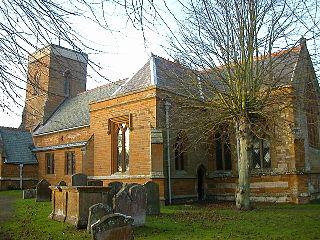 Nether Heyford Human settlement in England