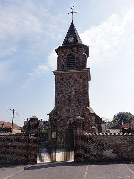 Neuvillette (Aisne) église