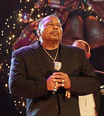 American R&B singer Aaron Neville at a Grand O...