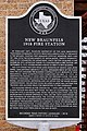 New Braunfels 1918 Fire Station Historical Marker.jpg