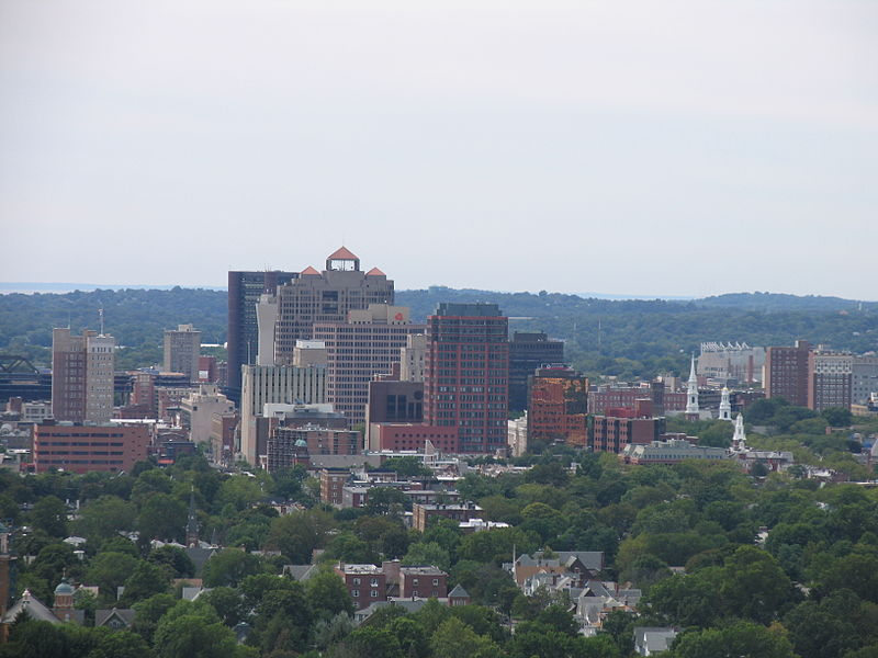 File:New Haven from East Rock.jpg