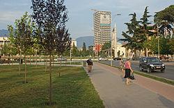 Taiwan-Center, Rinia-Park