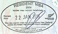 New Zealand Resident Visa Stamp on Australian Travel Document.jpg