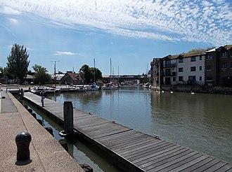 River Medina - Image: Newport Quay, IW, UK