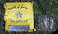 Nia Künzer auf dem Walk of fame im Kurpark von Bad Krozingen.jpg