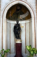 Niche of St John the Baptist - Cathedral of Monreale - Italy 2015.JPG