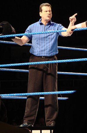 Referee (professional wrestling) - Image: Nick Patrick
