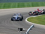 Nico Rosberg and Vitantonio Liuzzi 2006 Indianapolis.jpg