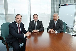 Frank Field (British politician) - Nigel Dodds, Nelson McCausland and Frank Field
