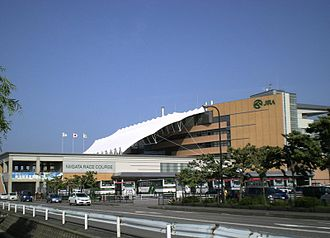 Niigata Racecourse - Image: Niigata Racecourse 01