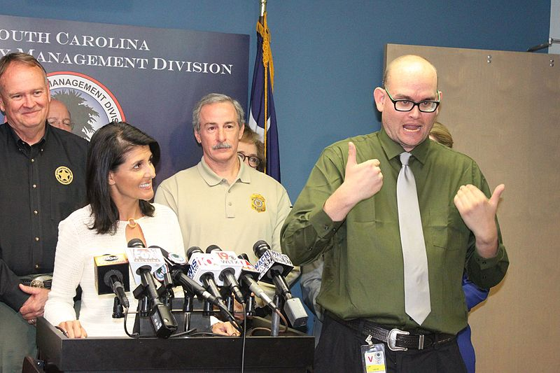 File:Nikki Haley Hurricane Matthew Press Conference 12 (29633729523).jpg