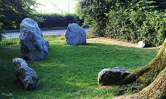 Stone circles in the British Isles and Brittany - The Nine Stones near Winterbourne Abbas, Dorset