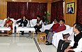 Nirmala Sitharaman and the Minister of State for Home Affairs, Shri Kiren Rijiju at a meeting with the various Head of Departments (HoDs), in Tawang, Arunachal Pradesh.jpg