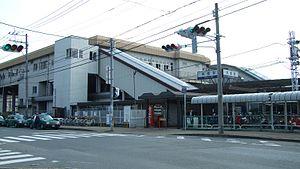 Chikushi Station - Image: Nishitetsu Chikushi Station 01