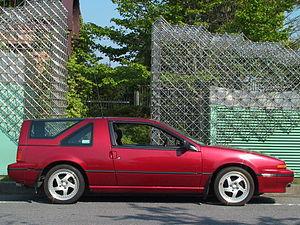 Nissan EXA - Nissan EXA N13 with Sportbak rear canopy