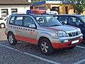 Nissan XTrail Gen1 T30 2001-2007 Deutsche Bahn Unfallhilfsfahrzeug frontright 2009-08-23 U.jpg