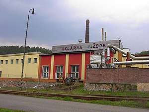 Nižbor glassworks - Nižbor glassworks