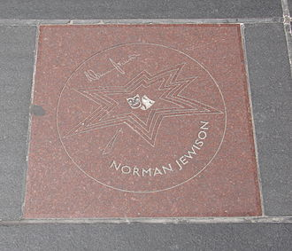 Norman Jewison - Jewison's star on Canada's Walk of Fame